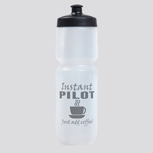 Instant Pilot Just Add Coffee Sports Bottle