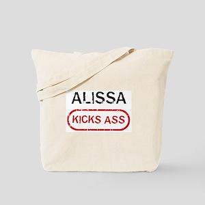 ALISSA kicks ass Tote Bag