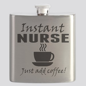 Instant Nurse Just Add Coffee Flask