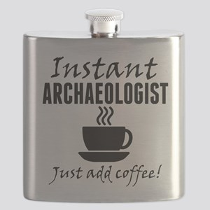 Instant Archaeologist Just Add Coffee Flask