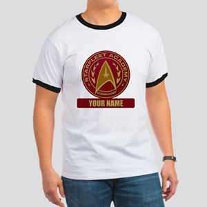 Starfleet Academy Command Patch Ringer T-Shirt