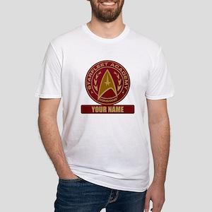 Starfleet Academy Command Patch Fitted T-Shirt