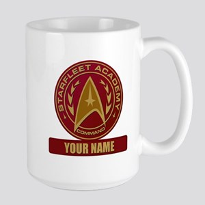 Starfleet Academy Command Patch Large Mug