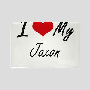 I Love My Jaxon Magnets