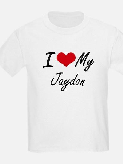 I Love My Jaydon T-Shirt