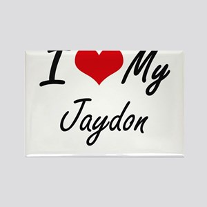 I Love My Jaydon Magnets