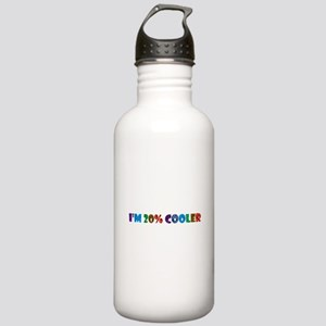 i'm 20% cooler brony Stainless Water Bottle 1.0L