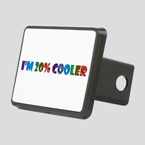 i'm 20% cooler brony Rectangular Hitch Cover