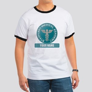 Starfleet Academy Medical Patch Ringer T-Shirt