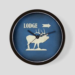LODGE Wall Clock