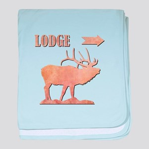 LODGE baby blanket