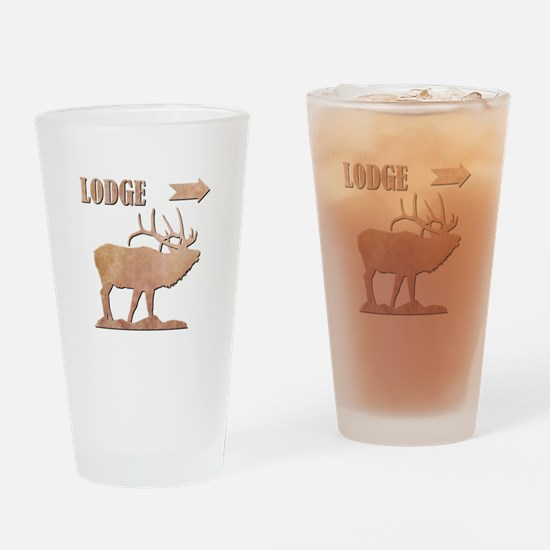 LODGE Drinking Glass