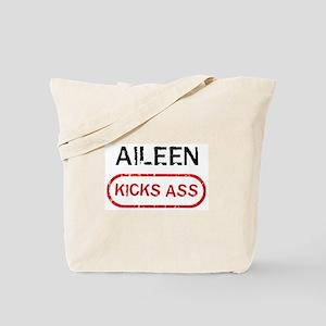 AILEEN kicks ass Tote Bag