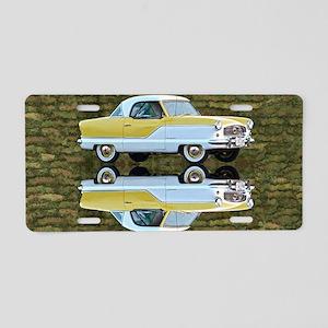 Nash Metropolitan Aluminum License Plate