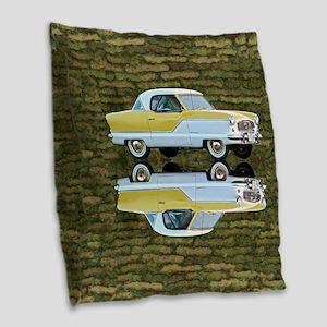 Nash Metropolitan Burlap Throw Pillow