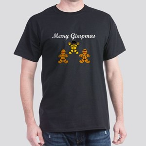 Merry Gimpmas (White) Dark T-Shirt