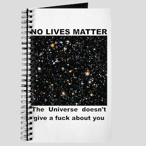 No Lives Matter (Explicit - Black) Journal