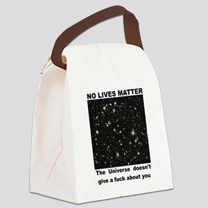 No Lives Matter (Explicit - Black Canvas Lunch Bag