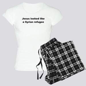 Jesus Syrian (Black) Women's Light Pajamas