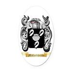Mikhalchenko Oval Car Magnet