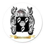 Mikhalchenko Round Car Magnet