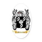 Mikhailov Oval Car Magnet
