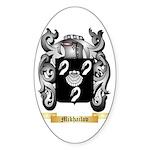 Mikhailov Sticker (Oval)