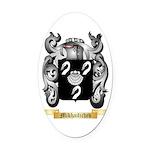 Mikhailichev Oval Car Magnet