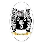 Mikhailichev Sticker (Oval)