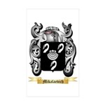 Mikalaevich Sticker (Rectangle 50 pk)