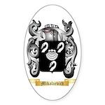 Mikalaevich Sticker (Oval)
