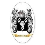 Mikalaevich Sticker (Oval 50 pk)