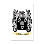 Mikalaevich 35x21 Wall Decal
