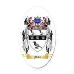 Mika Oval Car Magnet