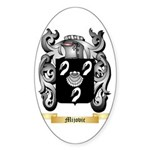 Mijovic Sticker (Oval)