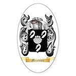 Mijatovic Sticker (Oval)
