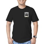Mijares Men's Fitted T-Shirt (dark)