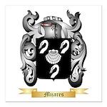Mijares Square Car Magnet 3