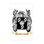 Mijares Sticker (Rectangle 50 pk)