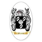 Mijares Sticker (Oval 50 pk)