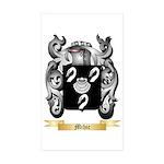 Mihic Sticker (Rectangle 50 pk)