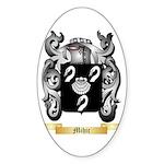 Mihic Sticker (Oval 50 pk)