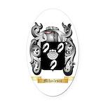 Mihailescu Oval Car Magnet