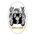 Mihailescu Sticker (Oval)