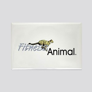TOP Fitness Animal Rectangle Magnet