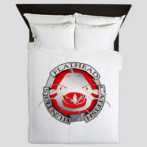 Flathead catfish hunters Queen Duvet