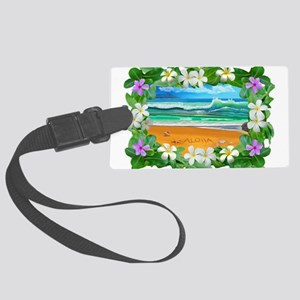 Aloha Hawaii Luggage Tag