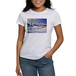 Winter lake landscape T-Shirt