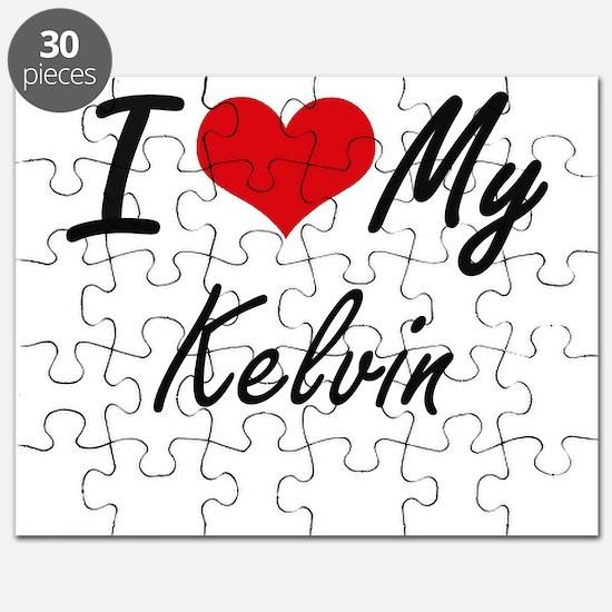 I Love My Kelvin Puzzle