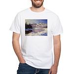 Winter river scene T-Shirt